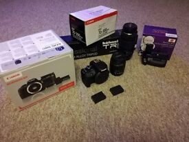 "Complete ""As New"" Canon EOS 100 DSLR outfit - Ideal for Student/Enthuiast"