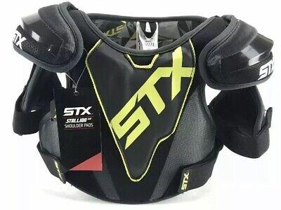 NWT Warrior Adrenaline X Hitman Lacrosse Shoulder Pads Protective Gear Sports XS
