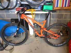 Full Suspension bike - 2015 Whyte T130