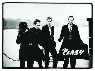 the Clash  *POSTER*  Punk Rock British U.K. Joe Strummer Mick Jones AMAZING