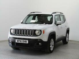 2016 Jeep Renegade LONGITUDE Petrol white Manual