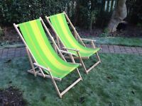 DECK CHAIRS : EXCELLENT CONDITION