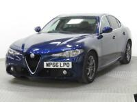 2016 Alfa Romeo Giulia 2.2 180 TD SUPER 8 Speed Auto with options Diesel blue Au