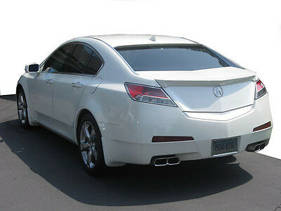 Lip Mount Spoiler - Acura TL Lip Mount Rear Spoiler / Wing 2009+ - DAR FG-541
