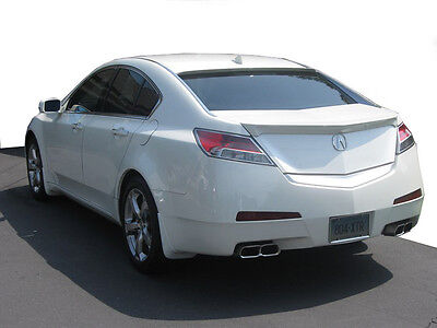 Lip Mount Spoiler - Acura TL Lip Mount Rear Spoiler / Wing 2009+ - DAR FG-541 painted