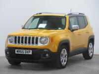 Jeep Renegade LIMITED (yellow/black) 2015-09-30