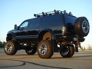 "2005 Custom Ford Excursion Limited 15"" Lift Rollin'on 40's"