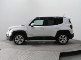 2016 Jeep Renegade M-JET LIMITED 4X4 9 Speed Auto Black roof Diesel white Automa