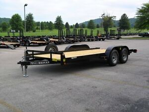 CAR HAULER, SMALL EQUIPMENT TRAILER, 7000 lb GVW