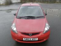 HONDA JAZZ 1.3 Red Great Condition! Quick Sale!!!
