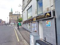 Fish and chips cafe shop in the town centre for quick sale due to another commitment/