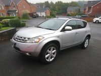 Nissan Murano 2008 4x4 with 4 months MOT Owned from New (spares repair as gearbox chain need replace