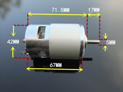 Rs-775 Motor 12 Volt 12-24v Dc 22k Rpm High Torque Drill Robot Saw Electric