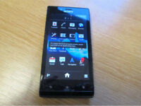 SONY XPERIA J UNLOCKED WITH CHARGER AND EARPHONES