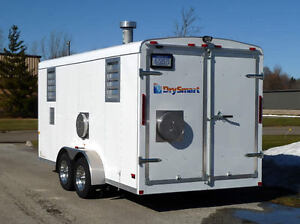 Emergency Recovery Drying Heater  Trailer ( Propane)