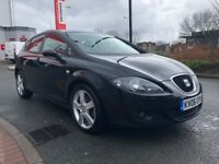 2006 SEAT LEON 2,0 TDI SPORT 5 DOOR 6 SPEED MANUAL LOW MILEAGE