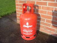Belgas propane bottle and gas