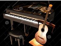 Guitar , piano and theory lesson