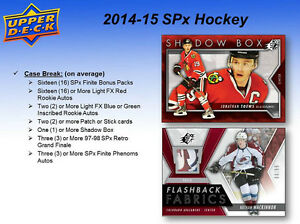 2014-15 Upper Deck SPx Hockey Cards Hobby Box Kitchener / Waterloo Kitchener Area image 4