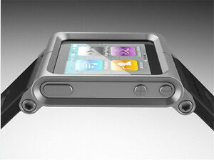 Multi-Touch Wrist Watch Band case For Apple ipad Nano 6