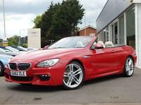 2012 BMW 6 Series 640d M Sport 2dr Automatic Diesel Convertible