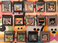 Various Nintendo Gameboy Colour And Gameboy Games