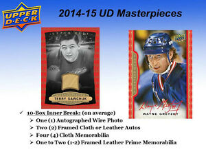 2014-15 Upper Deck MasterPieces Hockey Trading Cards Hobby Box Kitchener / Waterloo Kitchener Area image 5
