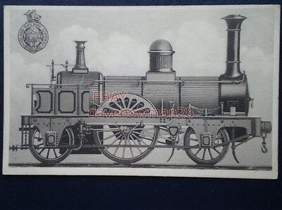 POSTCARD MIDLAND RLY LOCO BUILT BY WILSON OF LEEDS IN 1847
