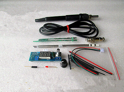New Digital Led Soldering Iron Station Welding Soldering Diy Kits For Hakko T12