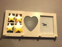 Clock, mirror &frame coat hanger from Next