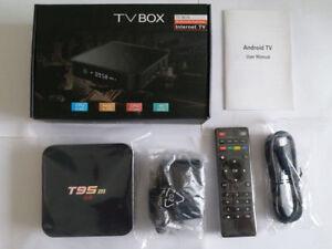 Android Box TV 64bit T95M 4K HD