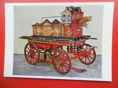 POSTCARD LONDON FIRE ENGINE 1862