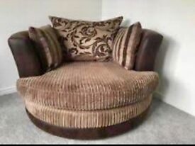 Dfs Swivel/cuddle chair delivery available