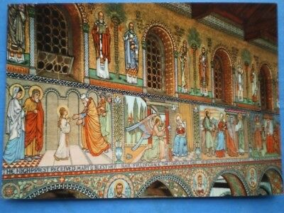 POSTCARD RELIGIOUS DROITWICH  SCENES FROM THE LIFE OF OUR LADY - CHURCH OF THE S