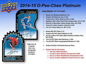 2014-15 Upper Deck OPC Platinum Hockey Cards Hobby Box Kitchener / Waterloo Kitchener Area image 4