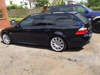bmw 535d touring many extras dyno at 379bhp FSH swap for bmw x5 volvo xc 90 l200 warrior vw t5