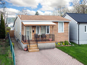 Well maintained 2 bedroom bungalow on a large landscaped lot.