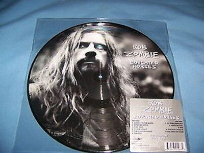 ROB ZOMBIE - Educated Horses PICTURE DISC LP - White Zombie - NEW COPY