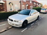 Bmw 320CI coupe Petrol 5 speed manual 170 bhp