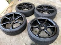 Black 17inch alloy wheels MULTISTUD