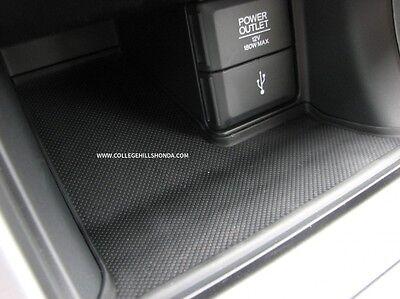 2013-2015 Genuine Honda Accord Rubber Console Mat - 77299-T2F-A01ZA