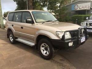 2002 Toyota LandCruiser Wagon *GREAT CONDITION, DUAL FUEL* Perth Perth City Area Preview