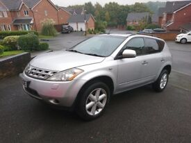 Nissan Murano 11 Month MOT Owned from New