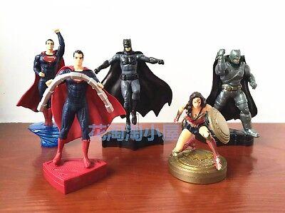 2016 Batman Vs Superman KFC Happy Meal Toys Complete Set 5 PCS