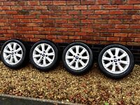 Ford Fiesta zetec wheels and tyres