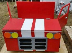 Handcrafted Wooden Car Toy Box Moose Jaw Regina Area image 3