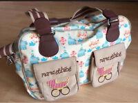 Yummy Mummy Pink Lining Birdcage Changing Bag