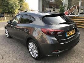 2017 Mazda 3 2.2d (150) Sport Nav 5dr (Leat Manual Diesel Hatchback