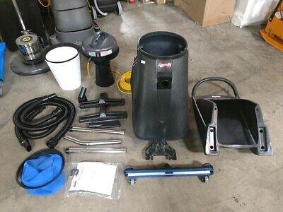 Dayton Commercial Wet Dry Vacuum 18 Gal Tank Size 95 Cfm 1-12 Vacuum Hose Dia.