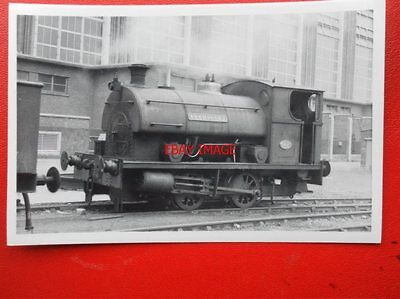 PHOTO  LOCO 0-4-0 USKMOUTH 2 AT EAST USK POWER STATION